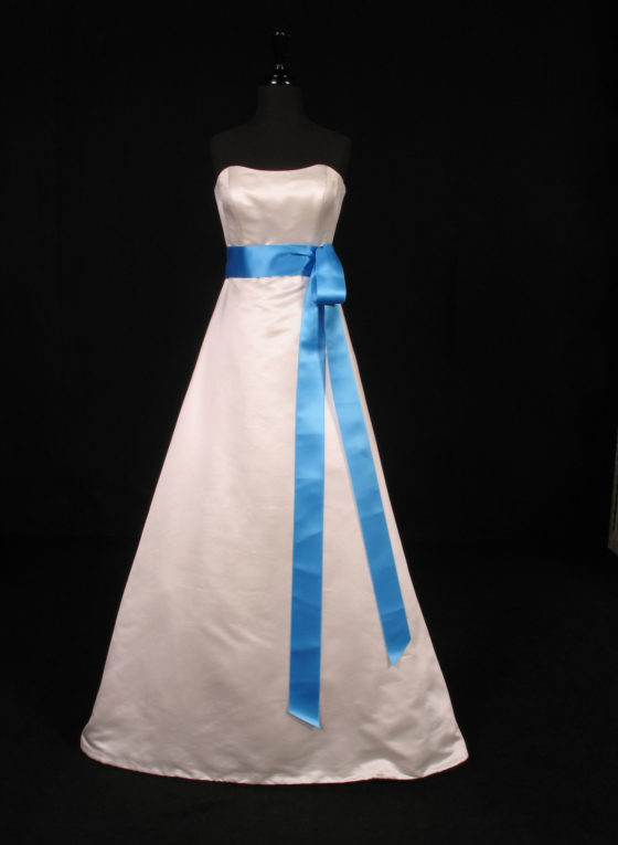 Ocean Double Faced Satin Ribbon Sash