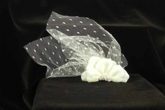 Jennifer Leigh Stacie Bridal Fascinator