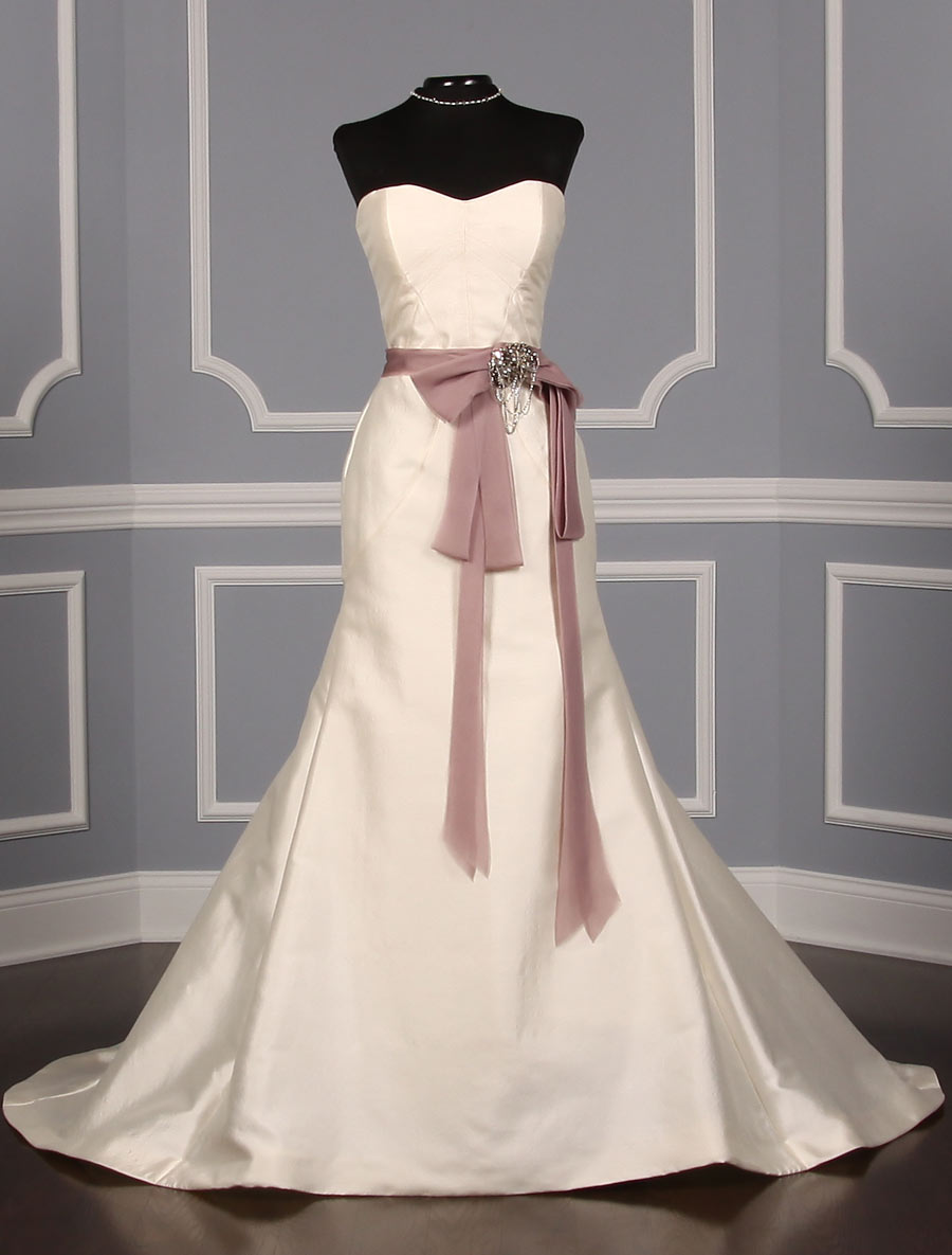 Monique Lhuillier Marcella Bridal Sash On Sale Your