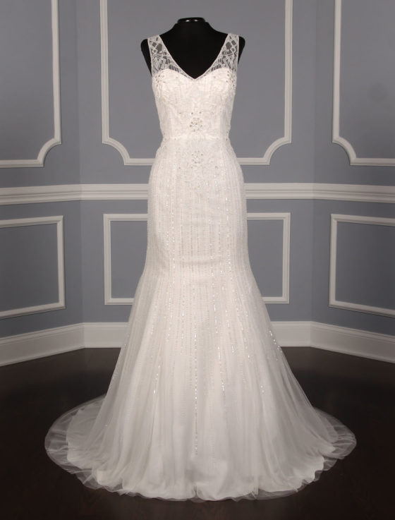Pronovias Olsen Discount Designer Wedding Dress